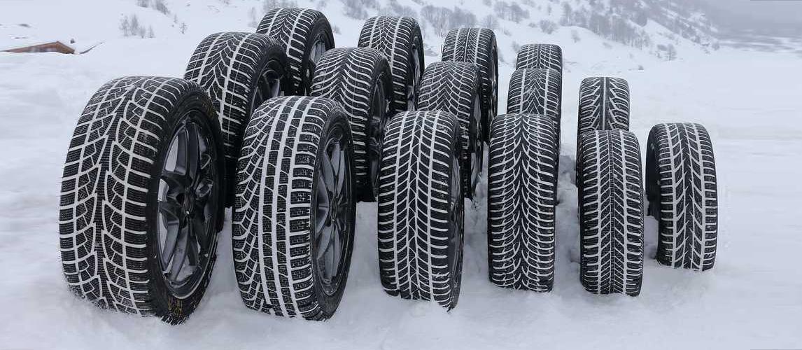 Как правильно выбрать зимние шины?   Различия зимних шин - шипованные или  липучки